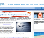 Saga – Avoiding Pension Sharks