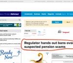 New Model Adviser – Avoiding Pension Sharks