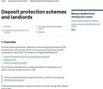 Landlord Tenant Deposit
